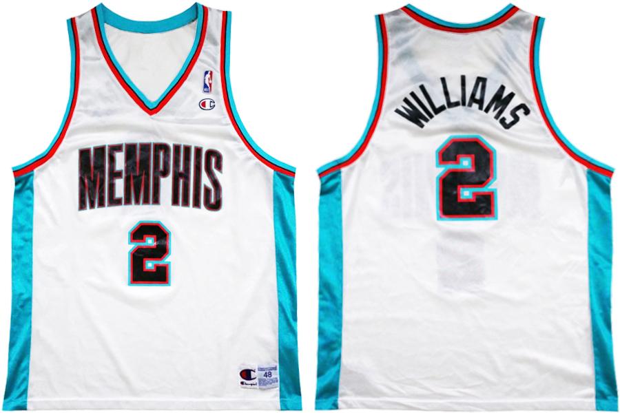 the latest ff98d 7ab1d jason williams memphis grizzlies jersey
