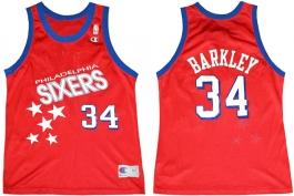 Charles Barkley Philadelphia Sixers Falling Stars 34