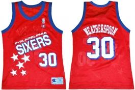 Clarence Weatherspoon Philadelphia Sixers Falling Stars 30