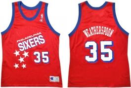 Clarence Weatherspoon Philadelphia Sixers Falling Stars