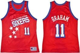 Greg Graham Philadelphia Sixers Falling Stars