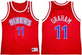 Greg Graham Philadelphia Sixers Red