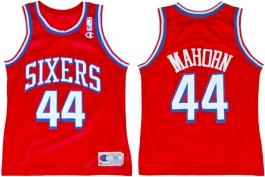 Rick Mahorn Philadelphia Sixers Red