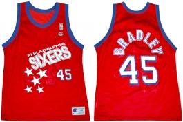 Shawn Bradley Philadelphia Sixers Falling Stars 45
