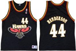 Alan Henderson Atlanta Hawks Black