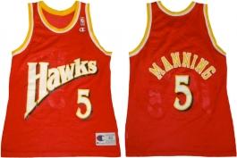 Danny Manning Atlanta Hawks Red