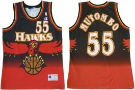 Dikembe Mutombo Atlanta Hawks European