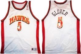 Dion Glover Atlanta Hawks White