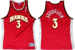 Shareef Abdur-Rahim Atlanta Hawks Red