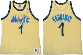 Anfernee Hardaway Orlando Magic Gold