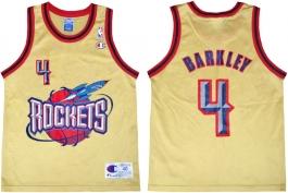 Charles Barkley Houston Rockets Gold