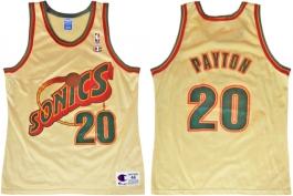 Gary Payton Seattle Sonics Gold