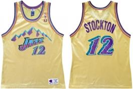John Stockton Utah Jazz Gold