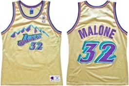 Karl Malone Utah Jazz Gold