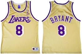 Kobe Bryant LA Lakers Gold