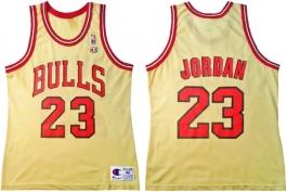 Michael Jordan Chicago Bulls Gold