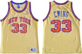 Patrick Ewing New York Knicks Gold