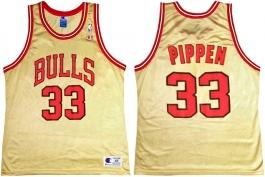 Scottie Pippen Chicago Bulls Gold