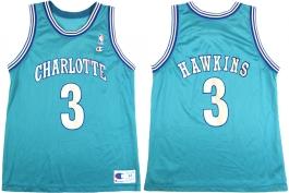 Hersey Hawkins Charlotte Hornets Blue 3