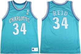 JR Reid Charlotte Hornets Blue