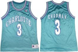 Rex Chapman Charlotte Hornets Blue alternate front
