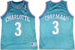 Rex Chapman Charlotte Hornets Blue