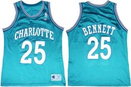 Tony Bennett Charlotte Hornets Blue