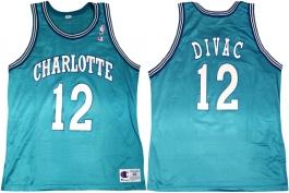 Vlade Divac Charlotte Hornets Blue