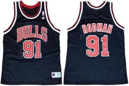 Dennis Rodman Bulls Black