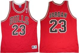 Michael Jordan Chicago Bulls Red 23