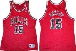 Ron Artest Chicago Bulls Red