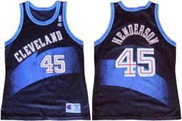Alan Henderson Cleveland Cavaliers Black 1996