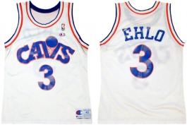 Craig Ehlo Cleveland Cavaliers White