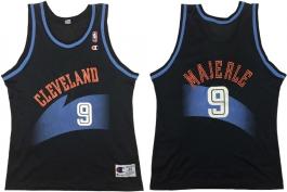 Dan Majerle Cleveland Cavaliers Black 1994