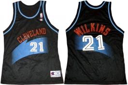 Gerald Wilkins Cleveland Cavaliers Black 1994