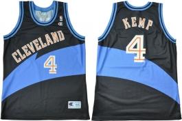 Shawn Kemp Cleveland Cavaliers Black 1996 European