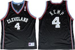 Shawn Kemp Cleveland Cavaliers Black 1999