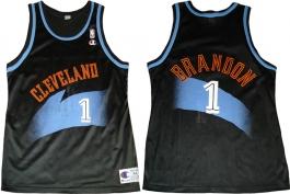 Terrell Brandon Cleveland Cavaliers Black 1994