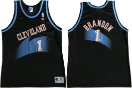 Terrell Brandon Cleveland Cavaliers Black 1996