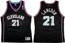 Trajon Langdon Cleveland Cavaliers Black 1999