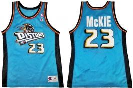 Aaron McKie Detroit Pistons Teal