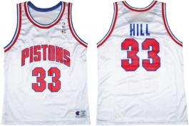 Grant Hill Detroit Pistons White 2