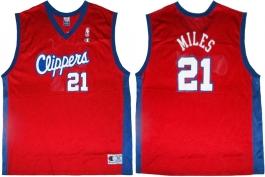 Darius Miles Clippers Red Vest