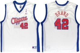 Elton Brand Clippers White Vest