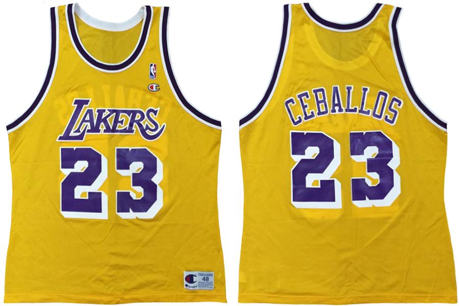 Cedric Ceballos Lakers