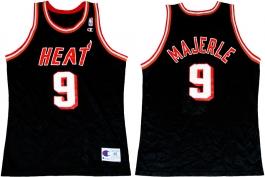 Dan Majerle Miami Heat Black