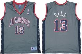 Kendall Gill NJ Nets Alternate