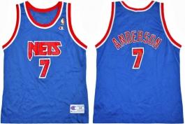 Kenny Anderson NJ Nets Blue