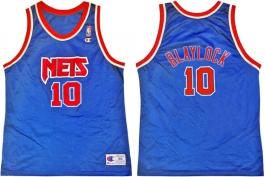Mookie Blaylock New Jersey Nets Blue