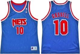 Sam Cassell NJ Nets Blue